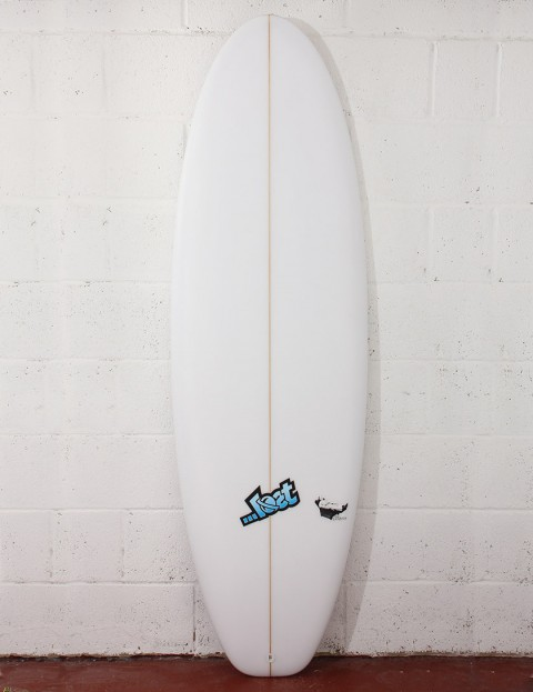 Lost Surfboards Lazy Boy Surfboard 6ft 2 FCS II - White