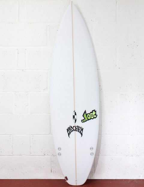 Lost Surfboards V2 Shortboard (domesticated) Surfboard 5ft 8 FCS II - White