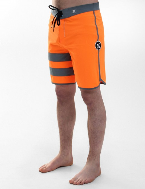 Hurley Phantom Block Party Boardies - Total Orange