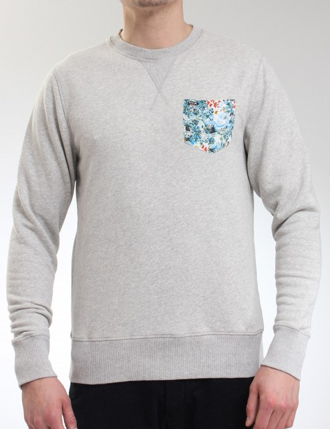 Hurley Elton Crew neck sweatshirt - Heather Grey