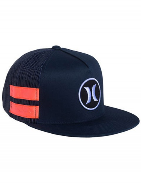 Hurley Block Party Trucker Snapback cap - Midnight Navy