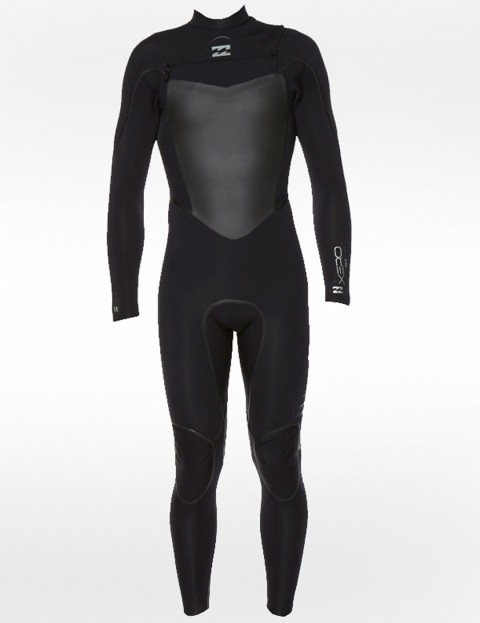 Billabong Xero Gold Chest Zip 3/2mm Wetsuit 2014 - Black/Black/Black