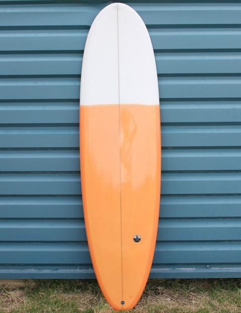 Nohana by Nineplus Magic Carpet Resin Tint Surfboard 6ft 10 - Orange