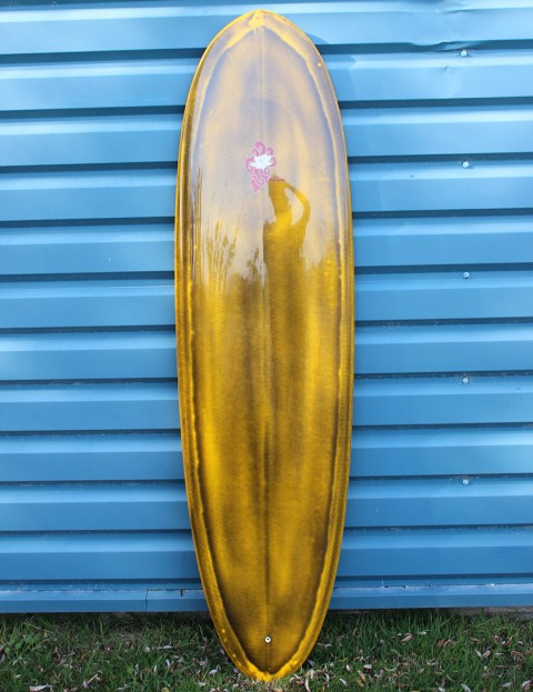 Nineplus Magic Carpet Surfboard 6ft 8 - Yellow Resin Tint