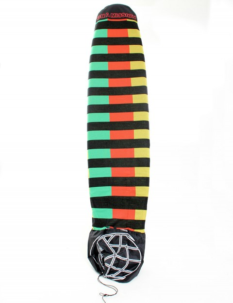 On A Mission Stretch Mal Surfboard sock 9ft 0 - Rasta