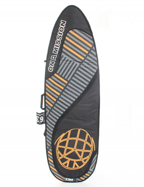 On A Mission Day Mission 6mm Surfboard bag 6ft 3 - Grid Orange