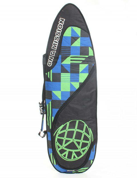 On A Mission Day Mission 6mm Surfboard bag 6ft 3 - Block Navy/Lime