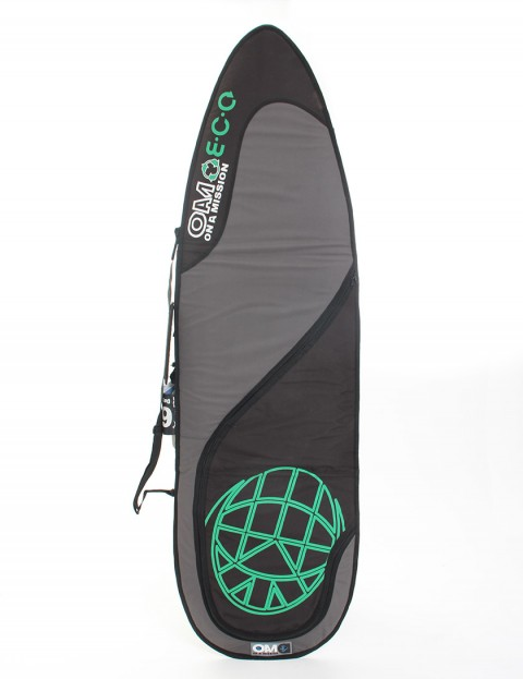 On A Mission Day Mission E.C.O 6mm Surfboard bag 6ft 6 - Green/Black