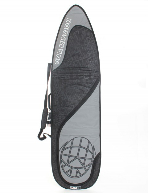 On A Mission Day Mission 6mm Surfboard bag 7ft 0 - Black On Black