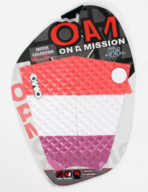 On A Mission Mitch Coleborn Tail pad - Mod/Red