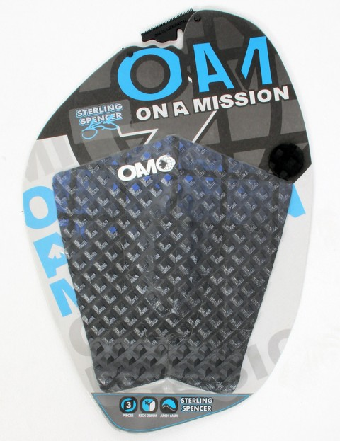 On A Mission Sterling Spencer Tail pad - Blue/Black Fade
