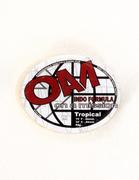On A Mission Tropical Water Surf wax - White