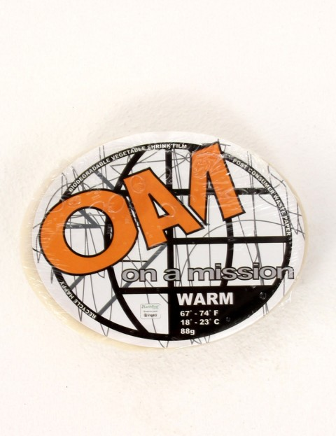 On A Mission Warm Water Surf wax - White