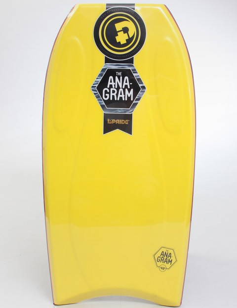 Pride Anagram EPS Bodyboard 42 inch - Yellow