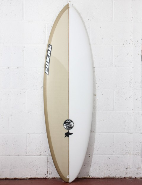 Pukas Original Sixtyniner Surfboard 5ft 10 FCS II - Champagne