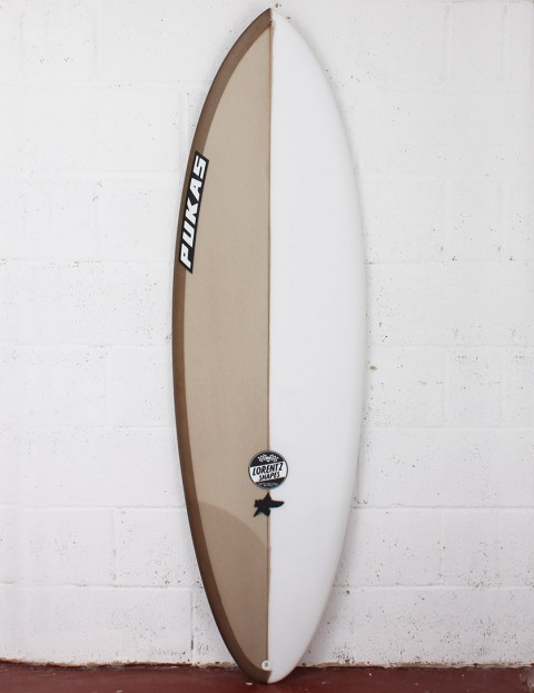 Pukas Original Sixtyniner Surfboard 5ft 11 Futures - Champagne