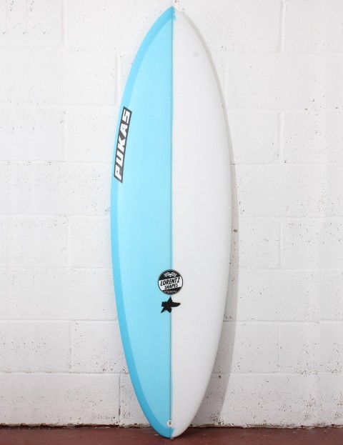 Pukas Original Sixtyniner Surfboard 6ft 0 FCS II - Blue