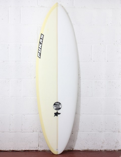 Pukas Original Sixtyniner Surfboard 6ft 2 FCS II - Yellow