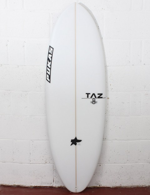 Pukas The Bait Surfboard 5ft 6 FCS II - White