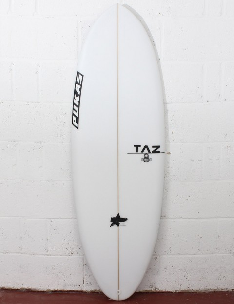 Pukas The Bait Surfboard 5ft 8 FCS II - White