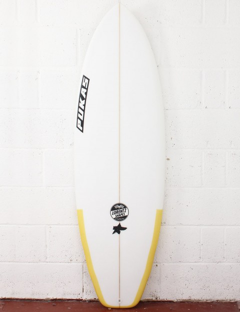 Pukas El Loco Surfboard 5ft 8 FCS II - Yellow