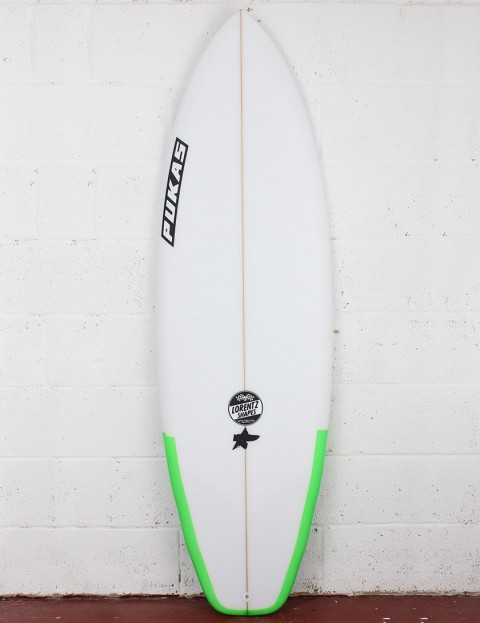 Pukas El Loco Surfboard 5ft 11 Futures - Fluro Green