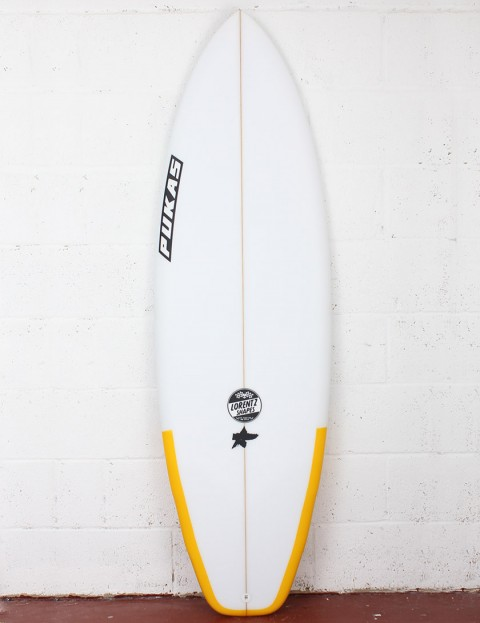 Pukas El Loco Surfboard 6ft 0 Futures - Yellow