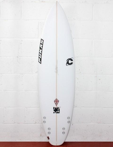 Pukas G-Spot Surfboard 6ft - White