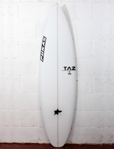 Pukas Underdog Surfboard 6ft 1 FCS II - White