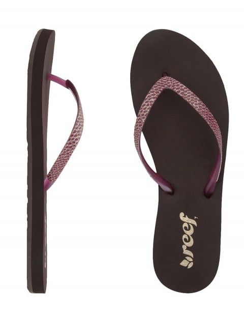 Reef Stargazer Sassy Ladies Flip flop - Brown/Berry