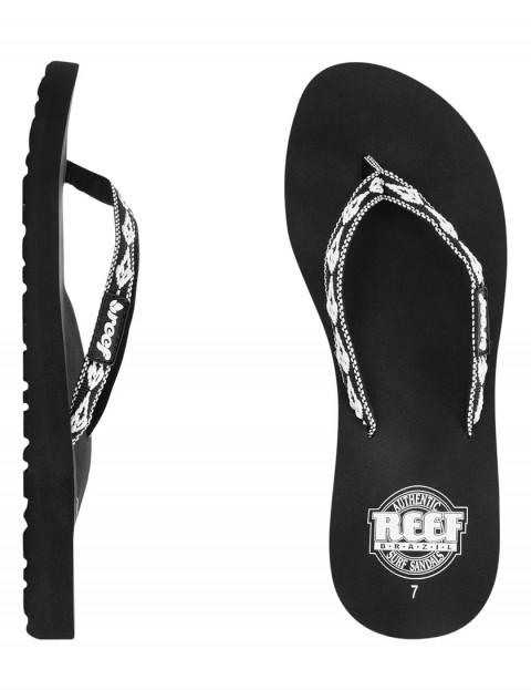 Reef Ginger 30 Years Sandal - Black/White