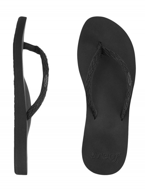 Reef Ginger Drift Ladies Flip flop - Black/Black