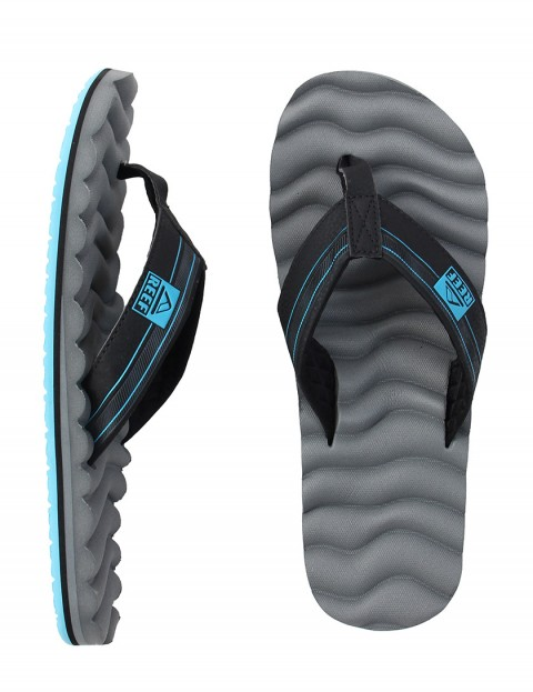 Reef Swellular Cushion 3D Flip flop - Grey/Light Blue