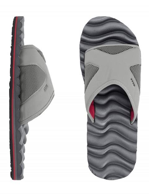 Reef Swellular Slide Sandal - Grey/Red