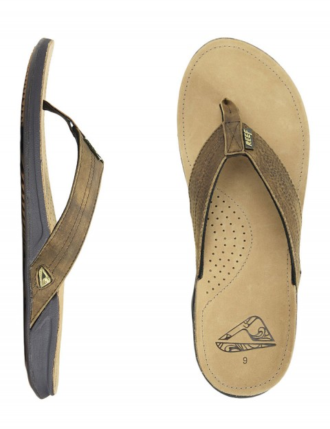 Reef J-Bay Leather flip flop - Sand