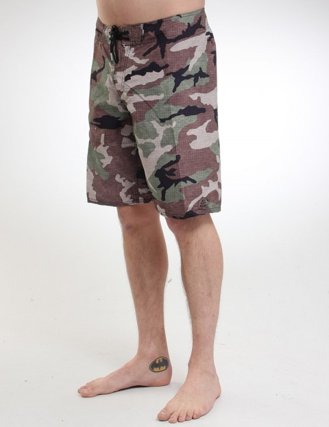 Reef Ponto Beach 5 PRT Boardies - Camouflage