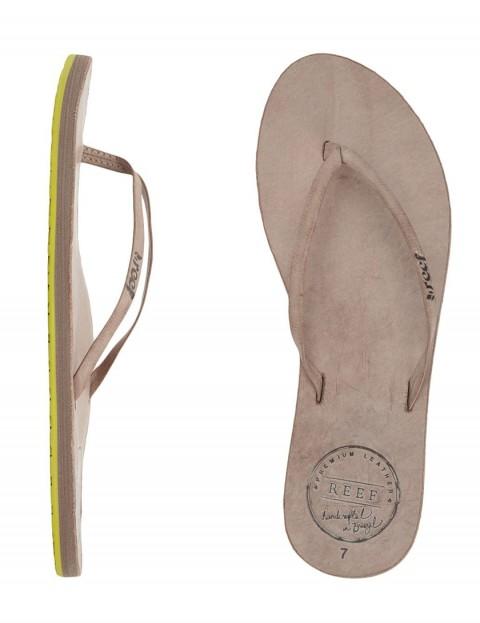 Reef Leather Uptown Ladies Flip flops - Grey