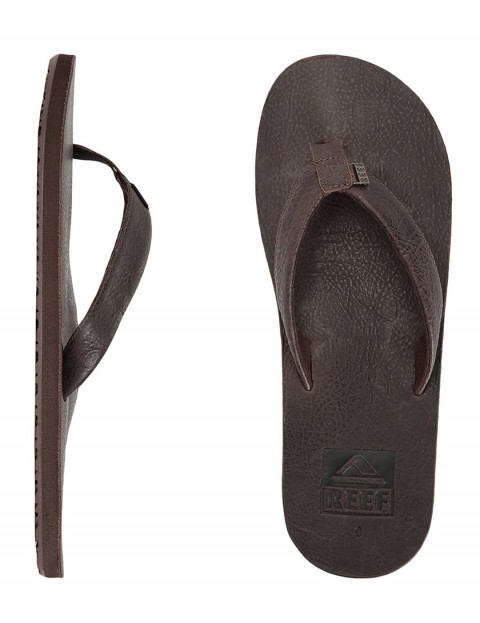 Reef Ulua Leather flip flop - Brown