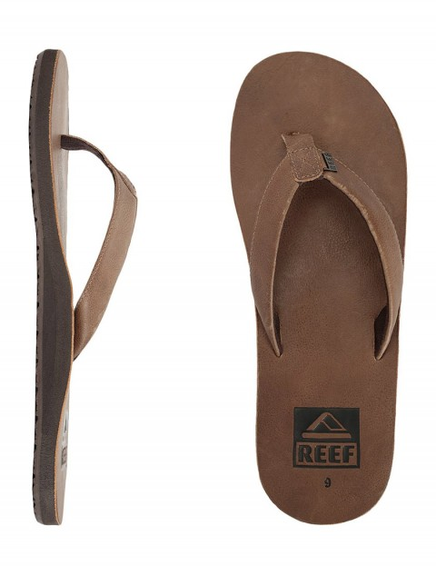 Reef Ulua Leather flip flop - Tan