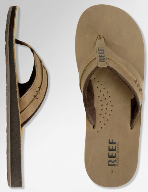 Reef Marbea Leather sandal - Bronze Brown