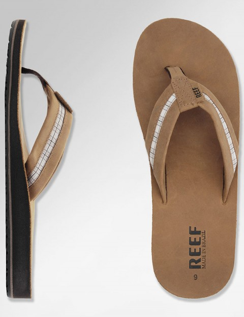 Reef Bonzer Leather sandal - Bronze Brown