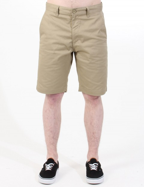 RVCA The Weekender Chino shorts - Khaki