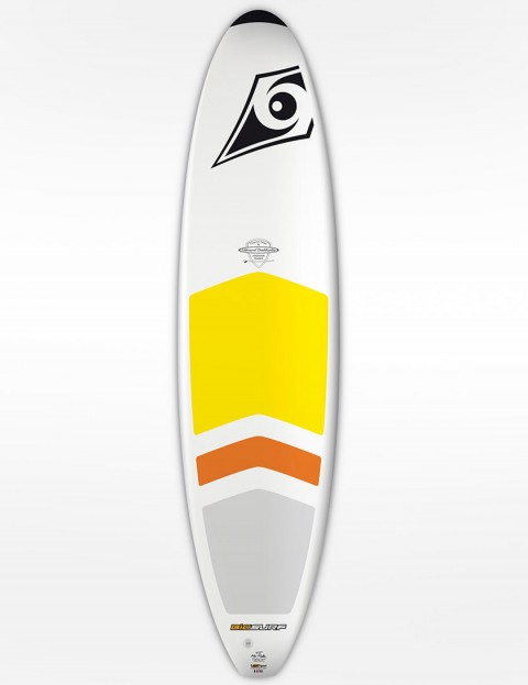 Bic DURA-TEC Padded Mini Malibu Surfboard 7ft 3 - White