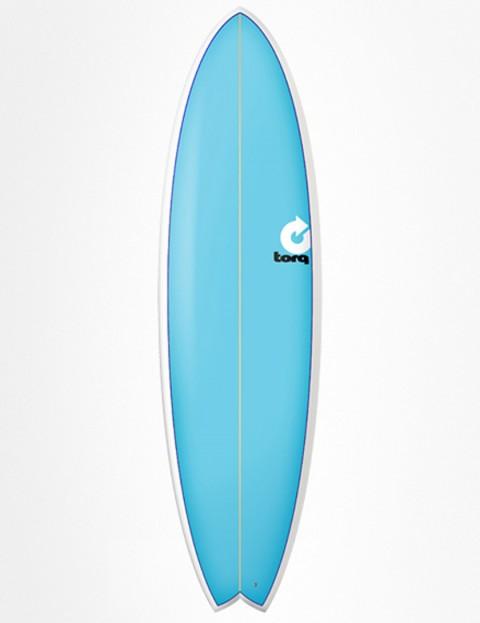Torq Surfboards Fish Surfboard 6ft 6 - Blue