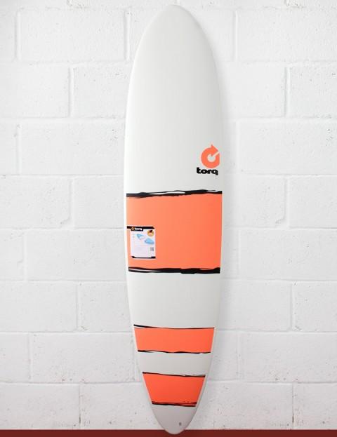 Torq Mod Fun Surfboard 7ft 6 - Red Bands