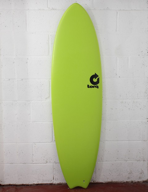 Torq Mod Fish Soft & Hard Surfboard 6ft 3 - Green