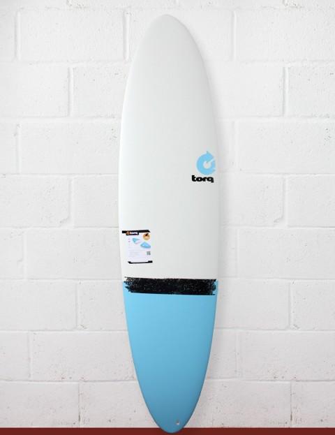 Torq Surfboards Mod Fun Surfboard 7ft 2 - Blue Taildip