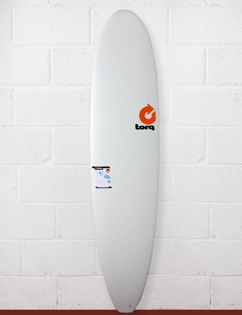 Torq Mini Long Surfboard 8ft - Matte White