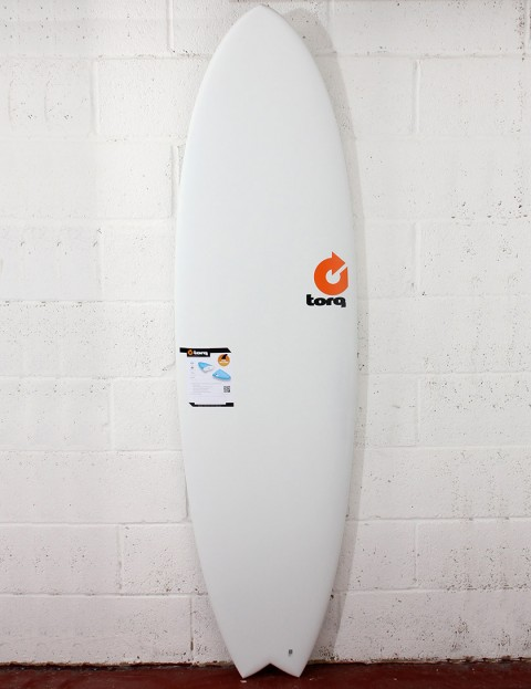 Torq Surfboards Mod Fish Surfboard 6ft 6 - Matte White