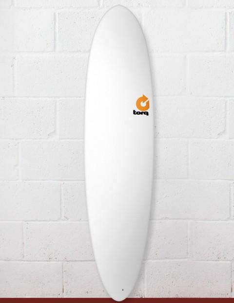 Torq Mod Fun Surfboard 7ft 6 - Matte White
